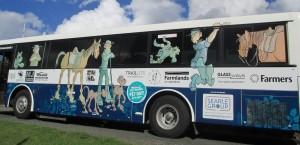 Puke East Bus